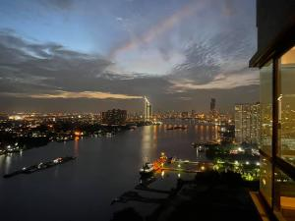 For SaleCondoRama3 (Riverside),Satupadit : Very beautiful river view, U Delight Residence Riverfront Rama 3.