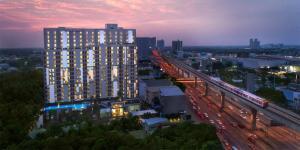 For RentCondoRattanathibet, Sanambinna : Condo for rent, A Space Me Rattanathibet, near MRT Rattanathibet, ready to move in, 25 sqm, starting price 6,500 baht