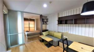 For RentCondoRatchadapisek, Huaikwang, Suttisan : Condo for rent, U Delight Huai Khwang Station, 1 bed, 32 sq m, only 10,500 per month