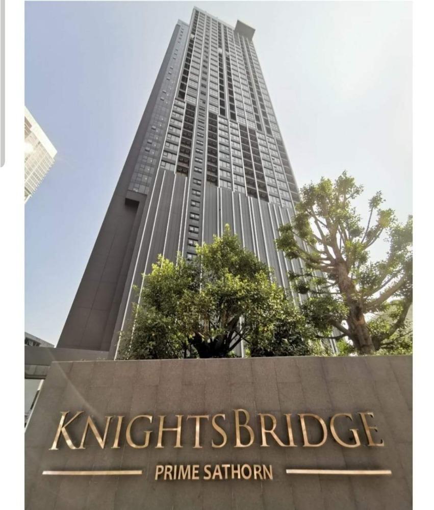 For SaleCondoSathorn, Narathiwat : For sale: Knightsbridge Prime Sathorn DUPLEX, corner room, floor 30, room 3023, area 44.54 sqm. (30.5 + 13.5) price 6.79 million baht