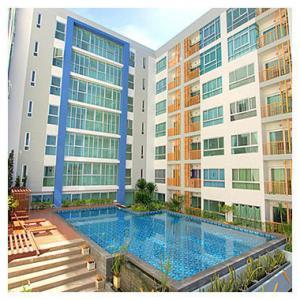 For RentCondoChengwatana, Muangthong : Condo for rent at Adera Chaengwattana 23 ready to move in 33 sqm starting price 7500 baht