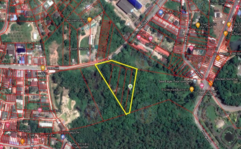 For SaleLandKrabi : Land for sale 5 rai, Mueang District, Krabi Province