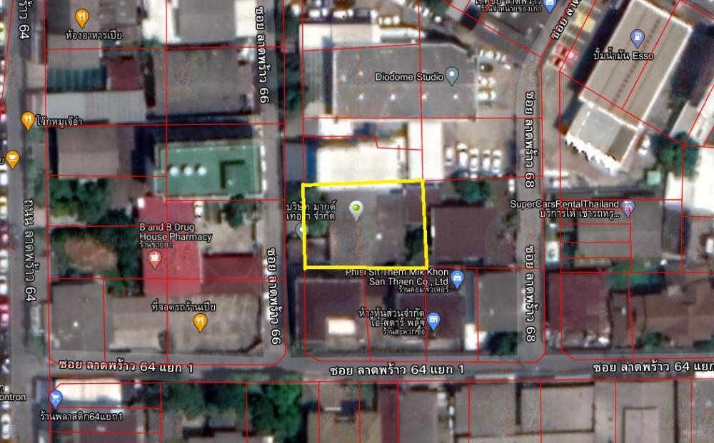 ขายบ้านลาดพร้าว71 โชคชัย4 : ขายบ้านพร้อมที่ดิน 117 ตารางวา ซอยลาดพร้าว 66