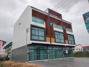 For SaleShophouseRangsit, Patumtani : 3-storey commercial building for sale, new home office, Lam Luk Ka Khlong 4 area