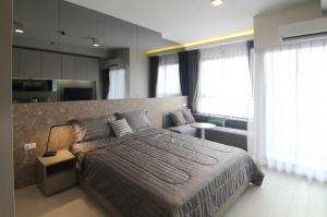 For RentCondoOnnut, Udomsuk : Rental of studio room, built-in room, beautiful decoration, fully furnished