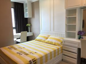 For RentCondoBangna, Lasalle, Bearing : Condo for rent Ideo Mobi Sukhumvit Eastgate fully furnished (Confirm again when visit).