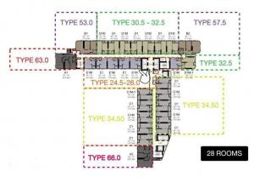 For SaleCondoSiam Paragon ,Chulalongkorn,Samyan : Sale Ashton Chula-Silom, Ashton Chula-Silom, 46th floor, Studio room 25.29 sq.m., fully furnished, 6.49 MB.