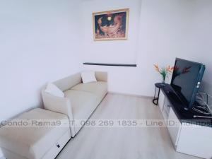 For RentCondoRatchadapisek, Huaikwang, Suttisan : RENT !! Condo Life Ratchadapisek, MRT Huai Khwang, 2 Bed, A Bl., 27 Fl., Area 46 sq.m., Rent 19,000.-