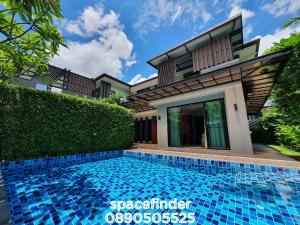 "ขายบ้านอ่อนนุช อุดมสุข : ""The Oriental Resort House""4 Bedrooms 4 Bathroom House For Rent with Pool close to Prakanong BTS ( 1 Km )"