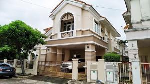 For RentHouseLadkrabang, Suwannaphum Airport : House for rent, Ananda Sport Life King Kaew Soi 19, size 88 sq m, near IKEA.