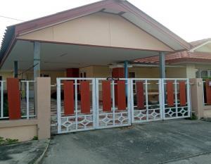 For SaleHouseRangsit, Patumtani : Single storey house Pruksaran Village, Lamlukka