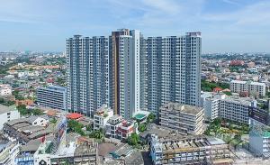 For RentCondoChengwatana, Muangthong : Condo for rent, Aspire Ngamwongwan, ready to move in, 28 sqm, starting price 7,500 baht