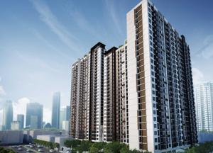 For RentCondoKhlongtoei, Kluaynamthai : Condo for rent, Aspire Rama 4, near BTS Ekkamai, ready to move in, 28 sqm, starting price 9,000 baht.