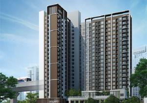 For RentCondoRattanathibet, Sanambinna : Condo for rent, Aspire Rattanathibet, near MRT Bang Kraso, ready to move in, 25 sqm, starting price 6,000 baht.