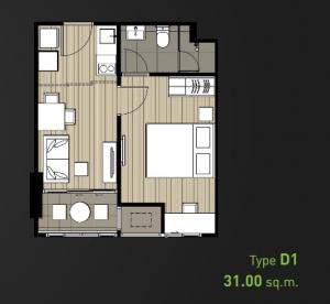 For SaleCondoBang Sue, Wong Sawang : sale, Ideo Mobi Bangsue, 1 bed 31 sqm., High floor, front view of the project Beautiful view Chatuchak Park, only 3.79 million only, the last room At the best price