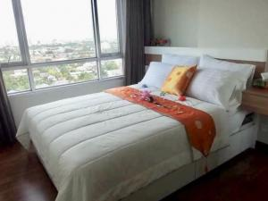 For RentCondoRattanathibet, Sanambinna : R7636 ** For rent, with washing machine ** Centric Tiwanon Station Condo, size 32, 17th floor, complete electrical appliances.