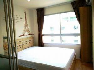 For RentCondoOnnut, Udomsuk : Room for rent, good condition, Lumpini Ville On Nut, 1 bedroom, 8th floor, cool breeze