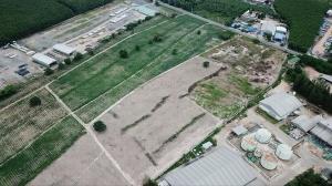 ขายที่ดินระยอง : ที่ดินเปล่า 130ไร่ ถมแล้ว ติดถนน4040 ต.มาบข่า อ.นิคมพัฒนา จ.ระยอง