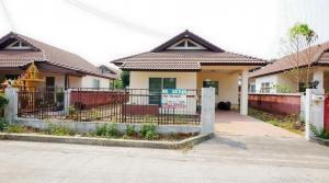For SaleHouseChachoengsao : K.C. Suwinthawong 2 single house 1 floor 51 sq.w. 2 bedrooms, 1 bathroom, 1 car park Suwinthawong-Chachoengsao Rd. Khlong Luang Phaeng, Chachoengsao