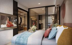 Sale DownCondoOnnut, Udomsuk : Selling preemption Plum Condo Sukhumvit 97.1 (Plum Condo Sukhumvit 97.1) starting down payment in March next year (2021)