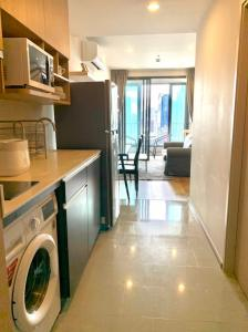 For RentCondoRatchathewi,Phayathai : Q Chidlom [for Rent] one bedroom 45 sqm 27 floor nearby Central World BTS Chidlom