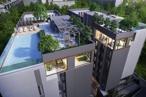 For RentCondoBangna, Lasalle, Bearing : Condo for rent, B Loft Sukhumvit 115, near BTS Pu Chao, ready to move in, 26 sqm, starting price 6,500 baht