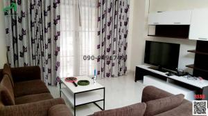 For RentHouseRamkhamhaeng Nida, Seri Thai : Single house for rent, Parkway Chalet Ramkhamhaeng 190/1, ready to move in.