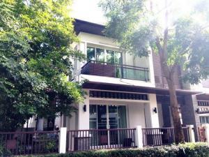 For RentHouseLadkrabang, Suwannaphum Airport : RH461 House for rent, 4 bedrooms, 4 bathrooms, Blue Lagoon, Kanchanaphisek Road, Ring Road-Bangna, Prawet District