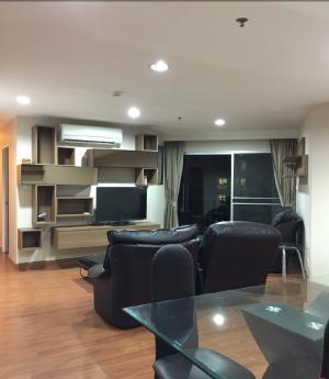 For RentCondoRama9, RCA, Petchaburi : 3 bedrooms 101 sqm for Rent in Belle Grand Rama9