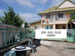For SaleTownhouseBangbuathong, Sainoi : JST251135 Townhouse for sale, Pruksa 26, Bangyai, Nonthaburi, behind the corner.