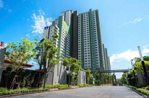 For SaleCondoRattanathibet, Sanambinna : 🏢 Condo for sale Lumpini Park Rattanathibet, A✨ building, new room, never lived, built-in furniture. Ready to move in‼ ️