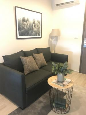 For RentCondoRatchadapisek, Huaikwang, Suttisan : TP24-0022 Nice room, ready to move in! Condo for rent, Centric Ratchada-Huay Kwang, fully furnished, prime location, next to MRT Huai Khwang, very convenient to travel !!