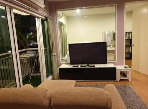 For RentCondoThaphra, Wutthakat : For rent, The Parkland Grand Taksin, fully furnished, garden