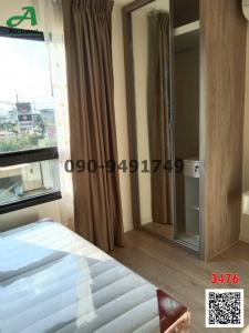 For SaleCondoLadkrabang, Suwannaphum Airport : Condo for sale Icondo Sukhumvit 77 (Phase 2) Robinson view, ready to move in.