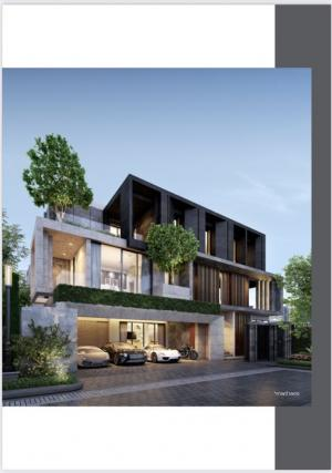 For SaleHouseYothinpattana,CDC : House project with a built-in swimming pool of Sansiri, starting price 29.9