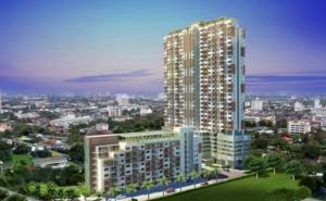 For RentCondoThaphra, Wutthakat : Bangkok Horizon Ratchada-Thapra, ready to move in, 29 sqm, starting price 7,500 baht Line ID : @likebkk