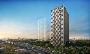 For RentCondoNawamin, Ramindra : Condo for rent, Blossom, Condo @ Fashion, ready to move in, 24 sqm, starting price 10,000 baht