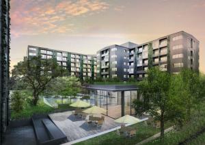 For RentCondoSathorn, Narathiwat : Condo for rent, Blossom, Condo Sathorn-Charoenrat, near BTS Surasak, ready to move in, 31 sqm, starting price 11,000 baht.