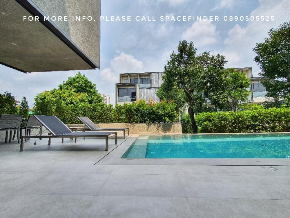 เช่าบ้านสุขุมวิท อโศก ทองหล่อ : 4 Story House for rent with private pool in Ekkamai Area