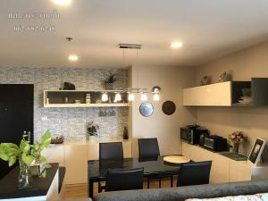 For RentCondoRama9, RCA, Petchaburi : 3 bedroom 110 sqm. Belle Grand Rama9