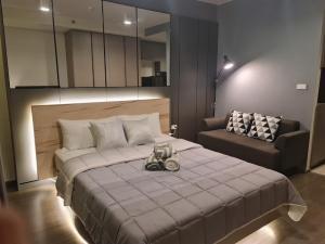 For RentCondoOnnut, Udomsuk : 1608-A😊 For RENT Studio room for rent, near BTS Bang Chak, just 1 minute (32 m.) 🏢 Ideo Sukhumvit 93 Ideo Sukhumvit 93🔔 Area: 26.00 sq m.: Rent: 13,000.- baht 📞: 099 -5919653✅LineID: @sureresidence