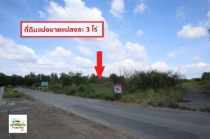 For SaleLandRangsit, Patumtani : Land for sale, 3 rai per plot, Thanon Rural Road, Nakhon Nayok 3026, Khlong 15, near the tree market, Srinakharinwirot University, Ongkharak