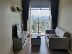 For RentCondoRattanathibet, Sanambinna : Condo for rent, Amber by Eastern Star, 1 bedroom, near MRT Tiwanon.