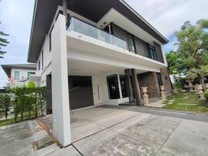 For SaleHouseBangna, Lasalle, Bearing : 2 storey detached house for sale, area 95 square meters, 4 bedrooms, 3 bathrooms, fully furnished, Bangna-Trad Road, KM 7, Mega Bang Trat, selling price 20 million baht