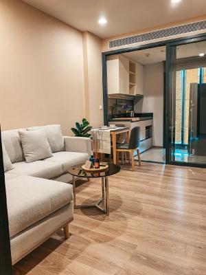 For RentCondoSukhumvit, Asoke, Thonglor : New room for rent oka haus condo, fully furnished, beautiful