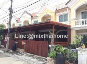 For RentTownhouseSamrong, Samut Prakan : Nirun Ville Sridan 22 Srinakarin Townhouse for rent. With furniture near big C Srinakarin