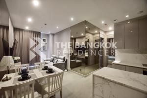 For RentCondoRama9, RCA, Petchaburi : [Rent] The Esse Singha 77sqm 2Bed2Bath 18Floor South Fullyfurnished Epicview
