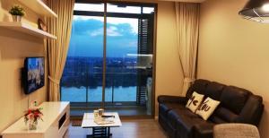 For RentCondoBang Sue, Wong Sawang : Condo for rent 333 Riverside 1 bedroom River view