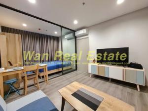 For RentCondoRattanathibet, Sanambinna : For rent, politan aqua, 44th floor, size 31 sq m, river view, Koh Kret. The new room is still still in