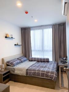 For RentCondoOnnut, Udomsuk : For rent, ELIO DEL NEST, beautiful room, affordable price, convenient transportation, fully furnished, near BTS Udom Suk